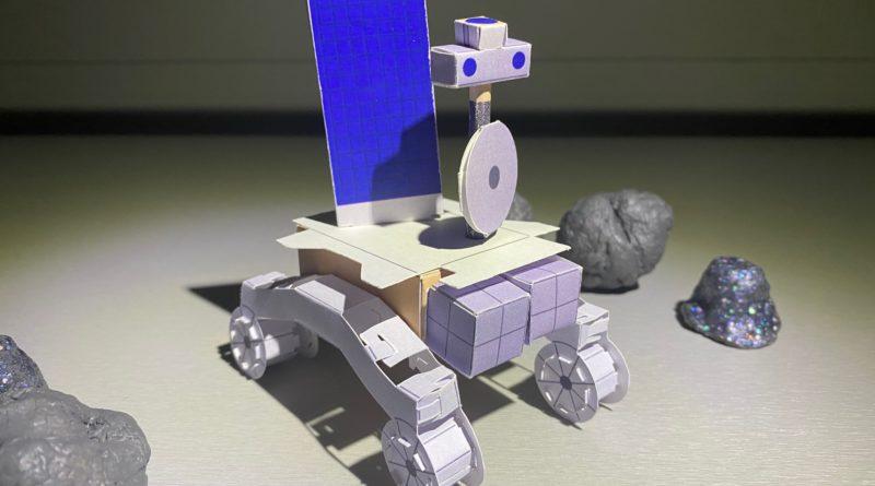 LUVMIX paper model